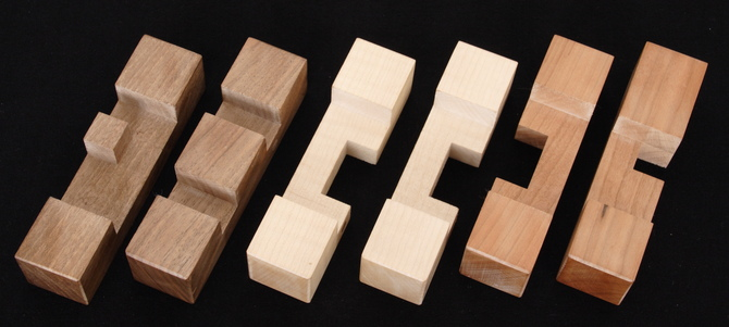 6-piece burrs - Puzzle Place