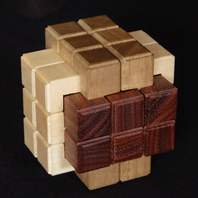 6 Piece Plastic Burr Puzzle Solution
