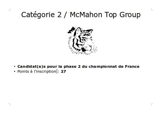 Quel format pour les championnats de club ? - Page 2 Cat2Snap